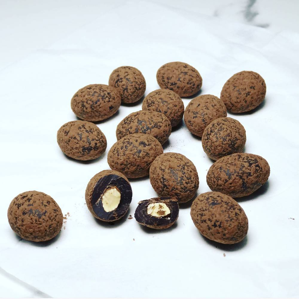 Bomboniere And Wedding Favours Sydney Roasted Almond In Dark Cocoa Dusted
