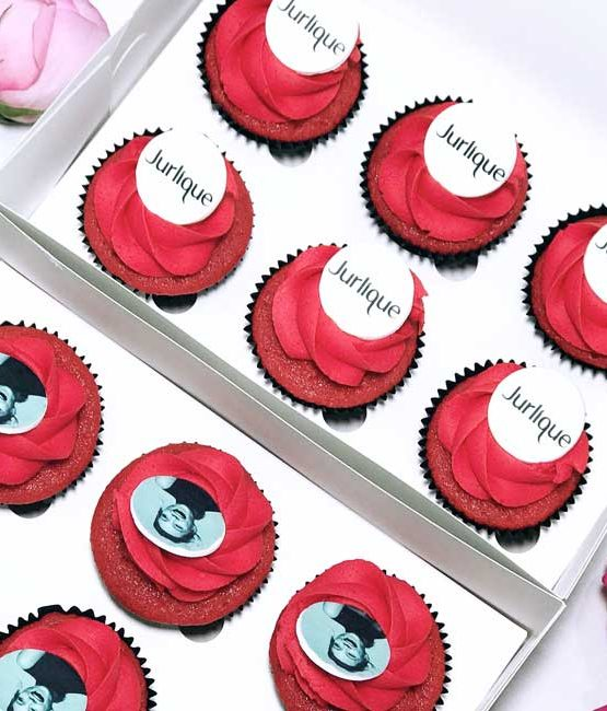 Corporate logo cupcakes premium corporate logo cupcakes premium negle Images