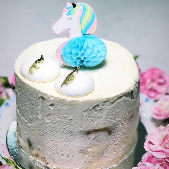 Mini Unicorn Cake Delivery Sydney Wide Birthday
